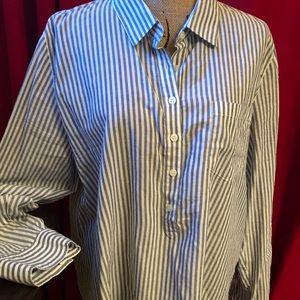 Cute vertical stripe tunic